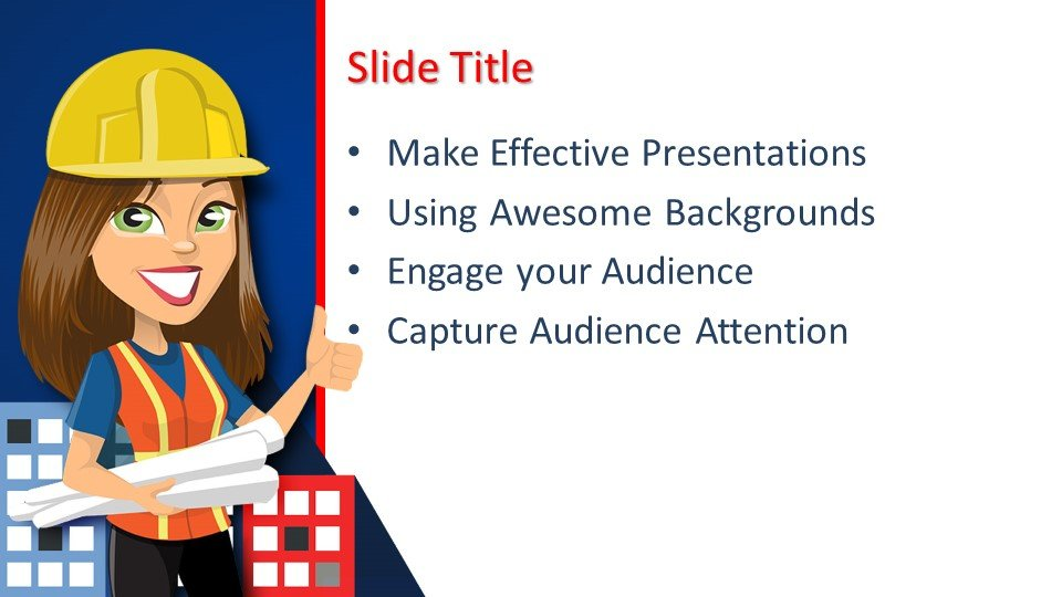 Powerpoint presentacion Constructor de Chicas