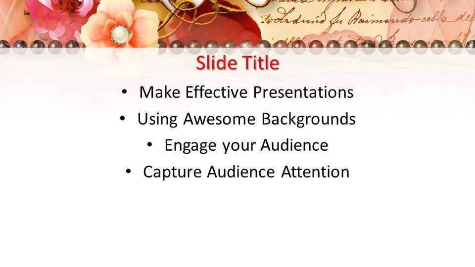 Powerpoint presentacion Marco de la flor