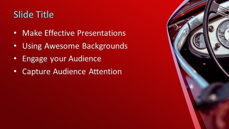 Powerpoint presentacion Coche Clásico