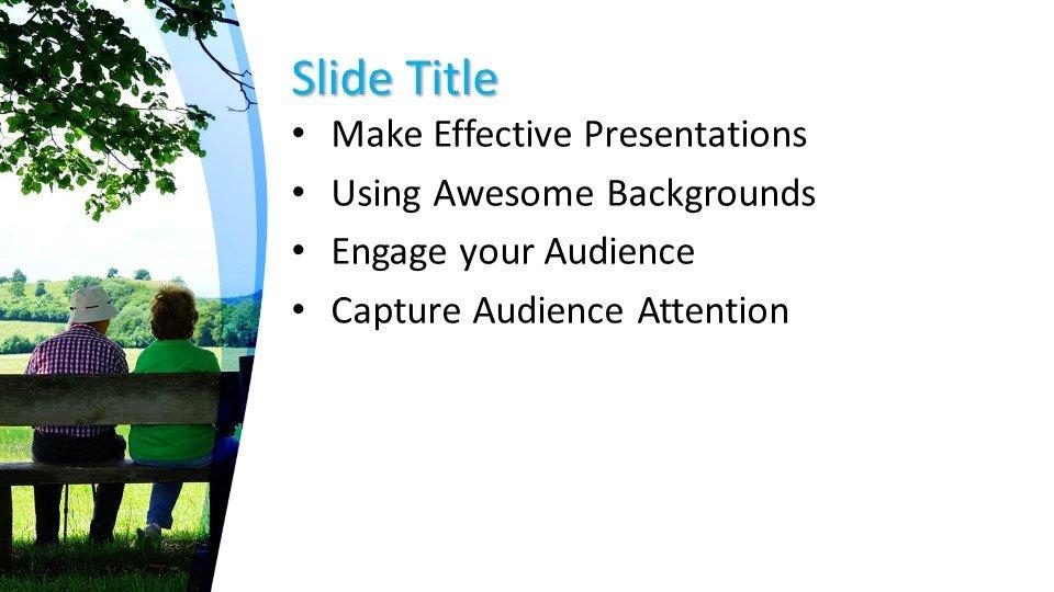 slides plantilla powerpoint Personas de edad