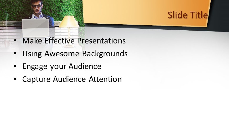 slides plantilla powerpoint Trabajo por cuenta propia