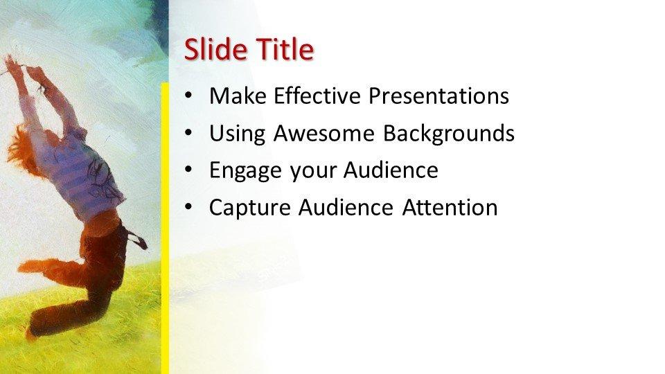 Powerpoint presentacion Globos para niños