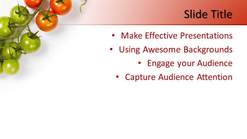 slides plantilla powerpoint Tomate