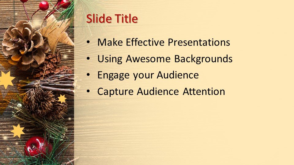 Powerpoint presentacion Decoración