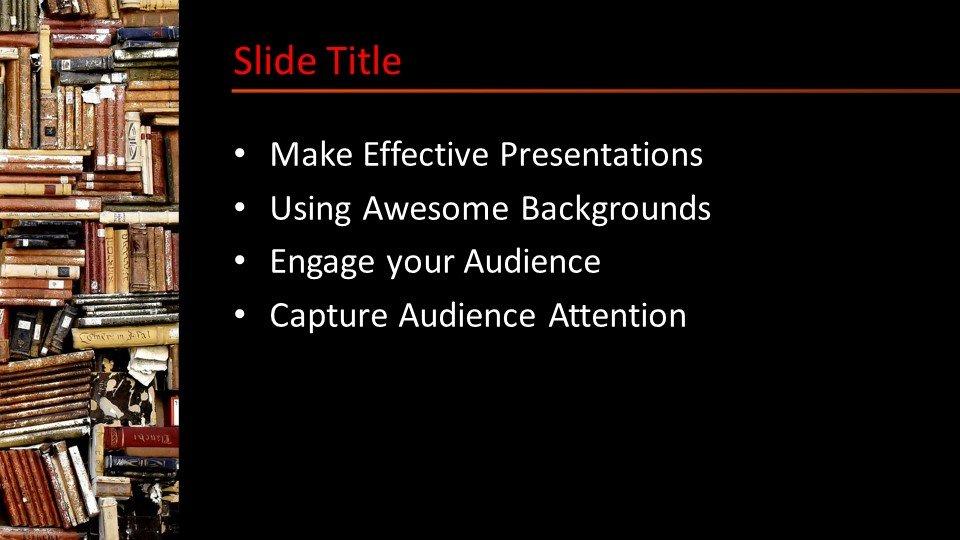 Powerpoint presentacion Estantería