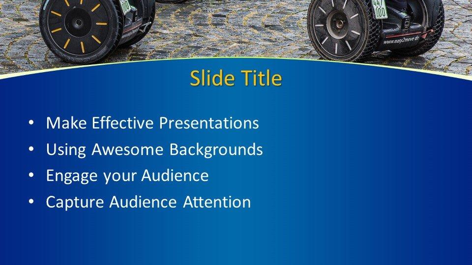 slides plantilla powerpoint Conducción