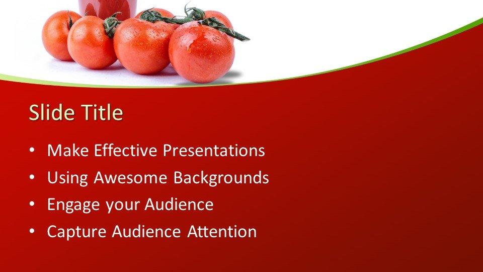 slides plantilla powerpoint Tomato Juice