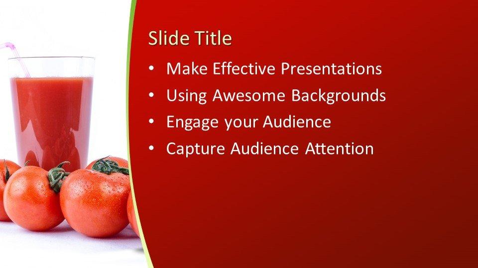 Powerpoint presentacion Tomato Juice