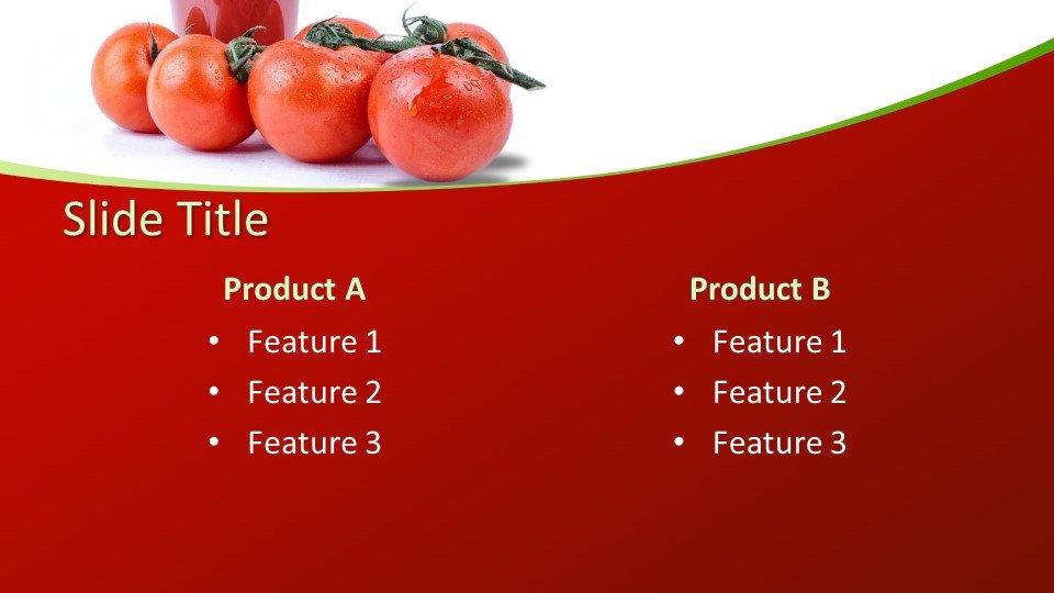 Descargar tema powerpoint Tomato Juice