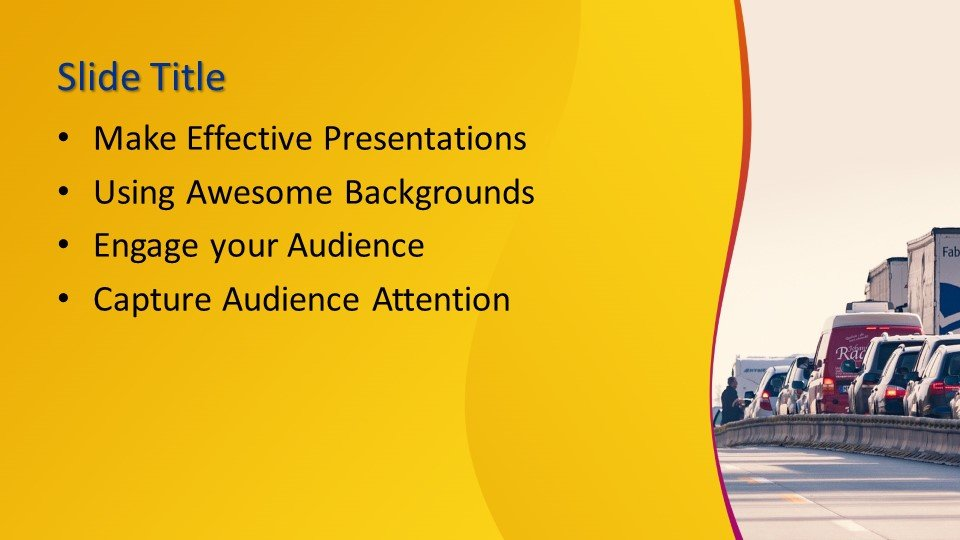 Powerpoint presentacion Atasco de tráfico