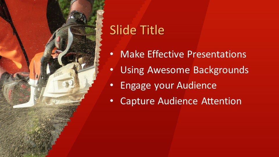 Powerpoint presentacion Sierra de cadena