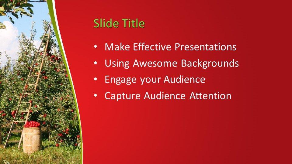 slides plantilla powerpoint Manzano