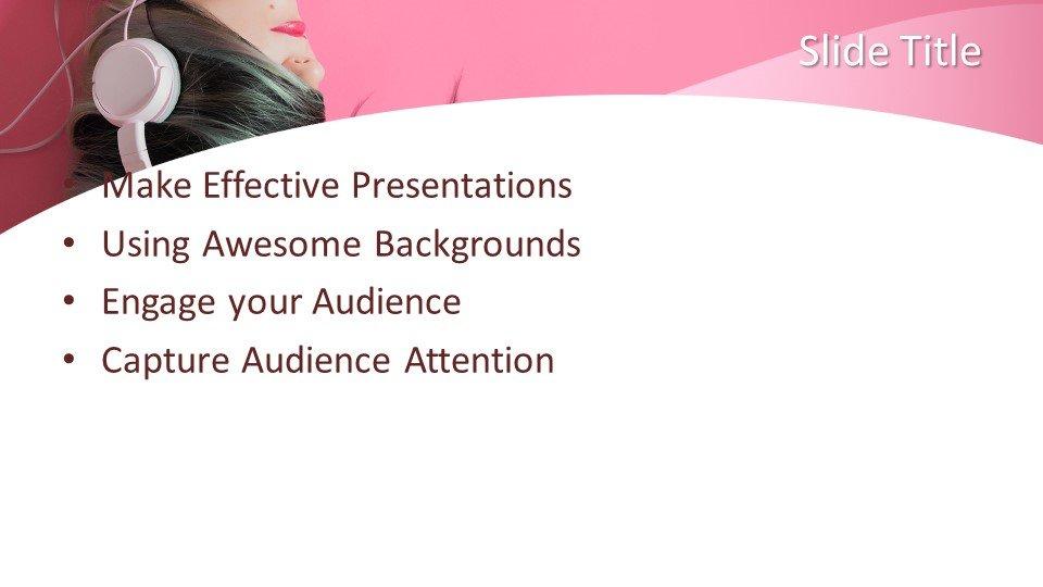 Powerpoint presentacion Música para Niñas