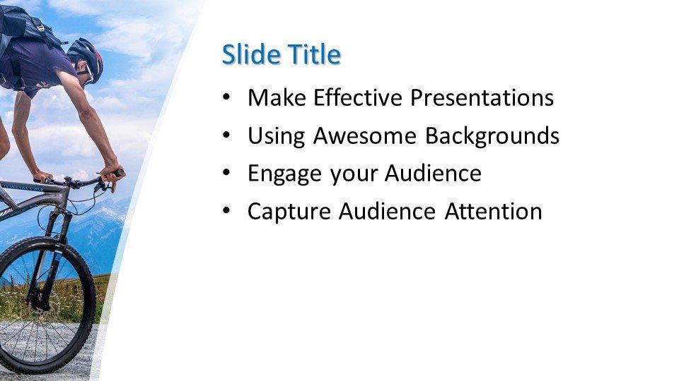 Powerpoint presentacion Ciclista