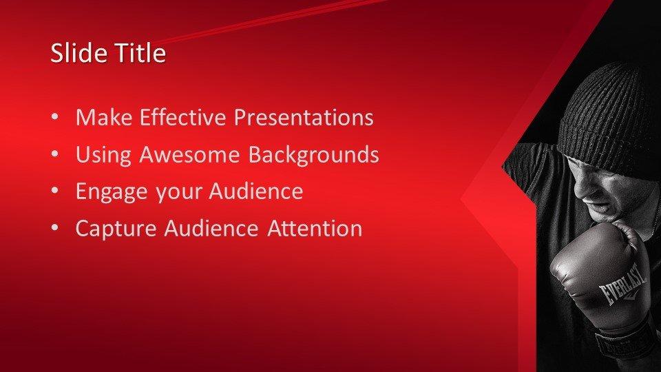 Powerpoint presentacion Kickboxing