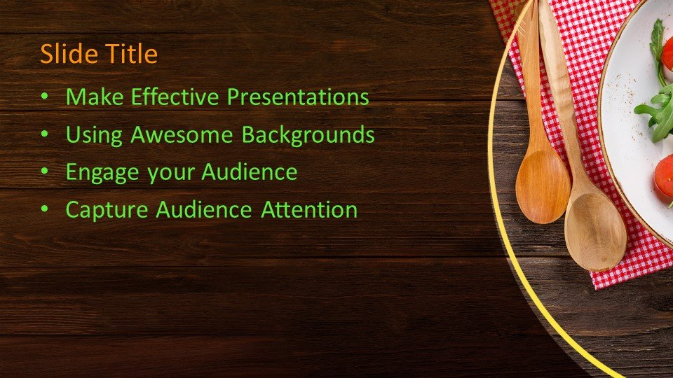 Powerpoint presentacion Salad