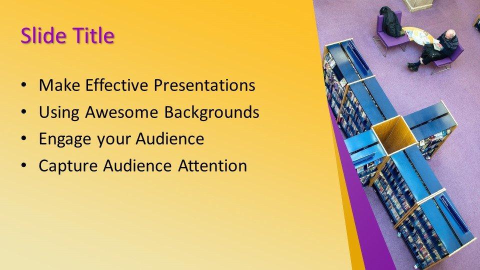 Powerpoint presentacion Librería