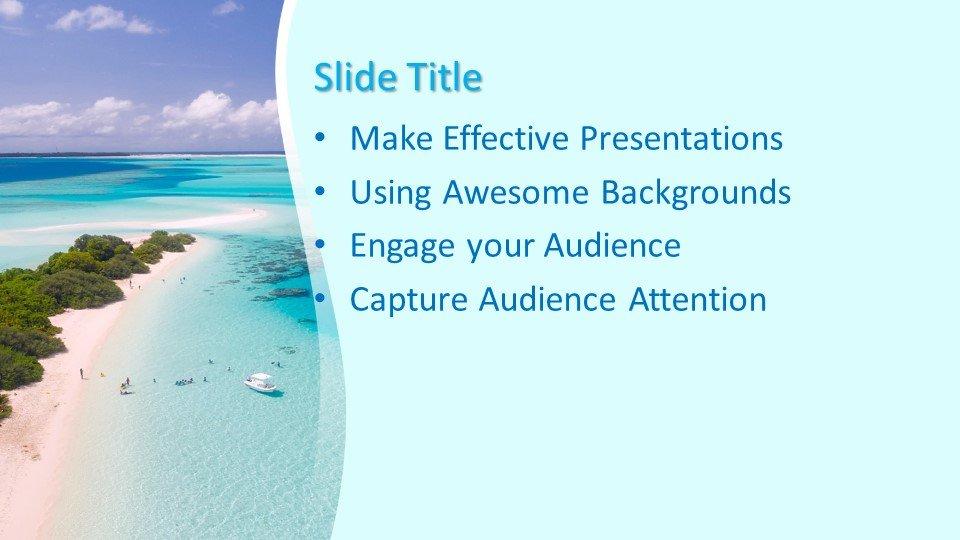 Powerpoint presentacion Playa Paraíso