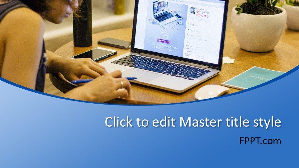 descargar plantilla powerpoint Diseñador Web
