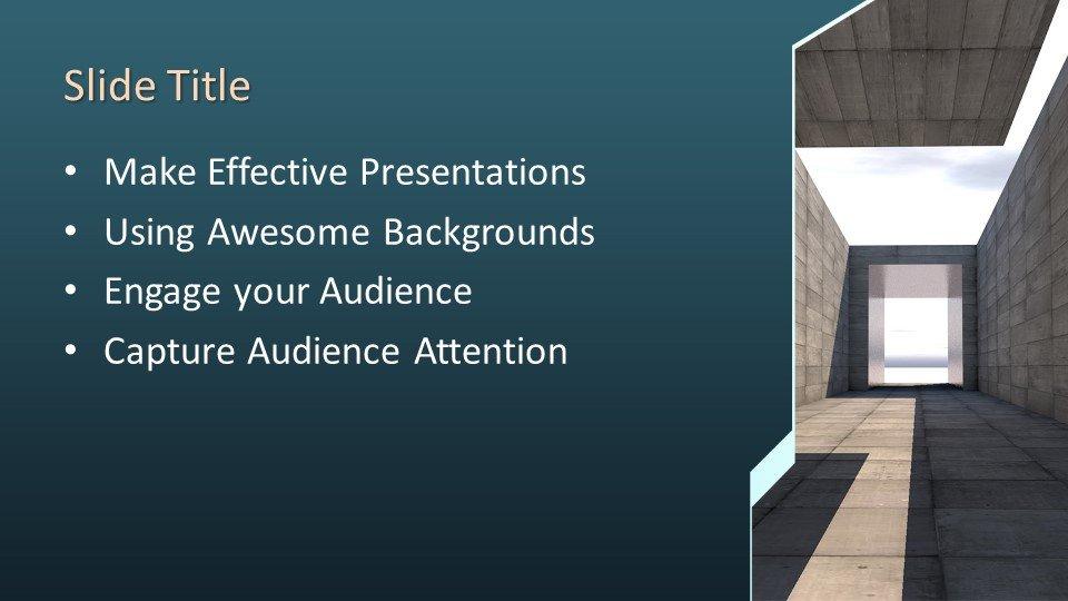 Powerpoint presentacion Túnel