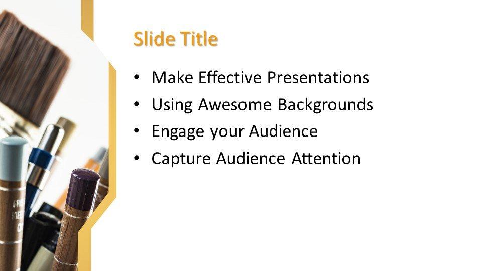 Powerpoint presentacion Herramientas de pintura