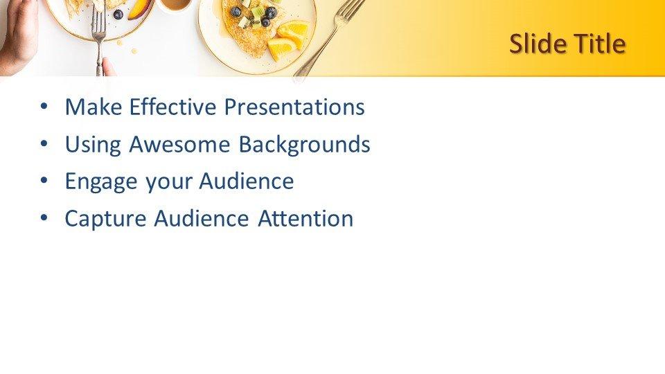 Powerpoint presentacion Desayuno por la mañana