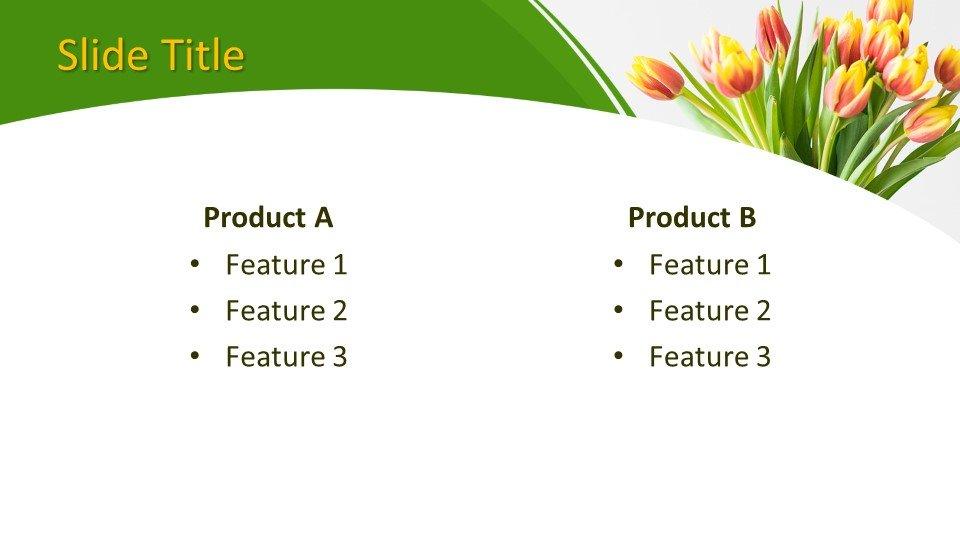 Descargar tema powerpoint Ramo de flores