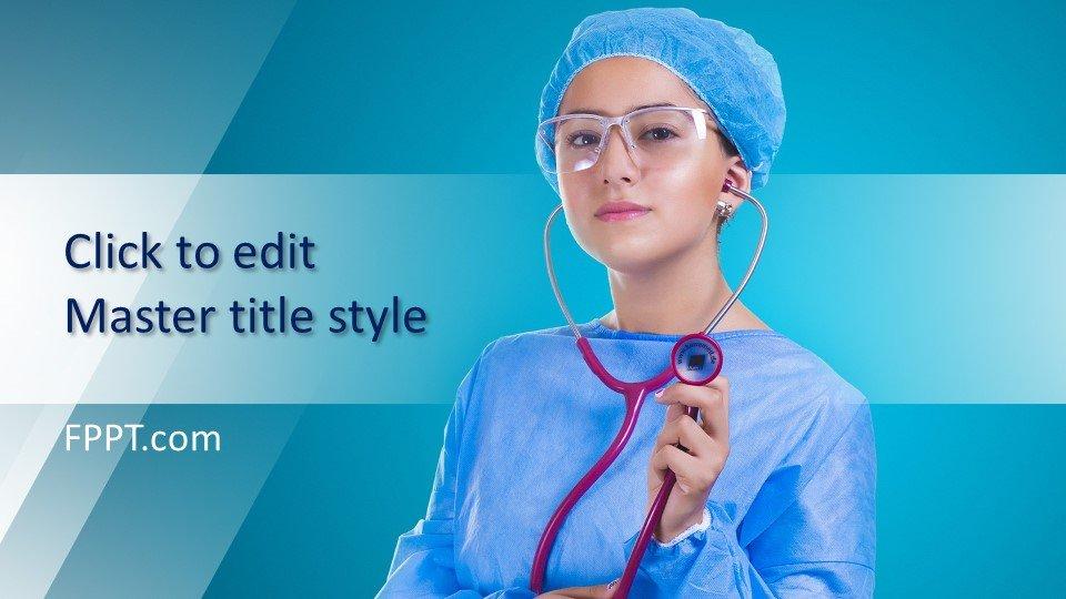 descargar plantilla powerpoint Personal médico
