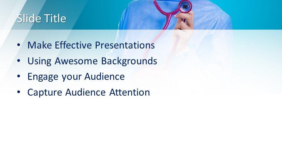 slides plantilla powerpoint Personal médico