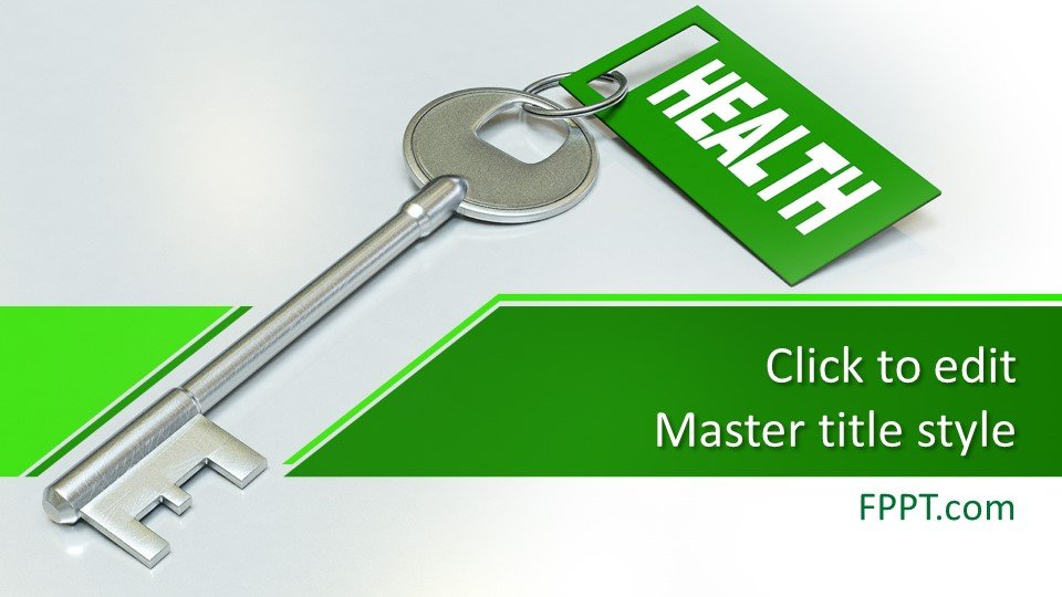 descargar plantilla powerpoint Clave para la salud