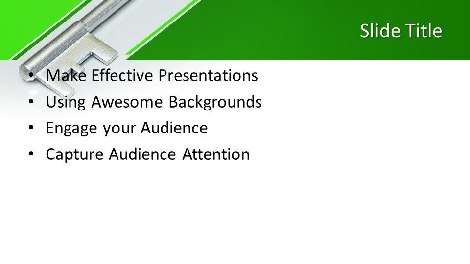 slides plantilla powerpoint Clave para la salud