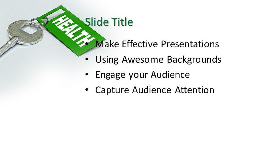 Powerpoint presentacion Clave para la salud