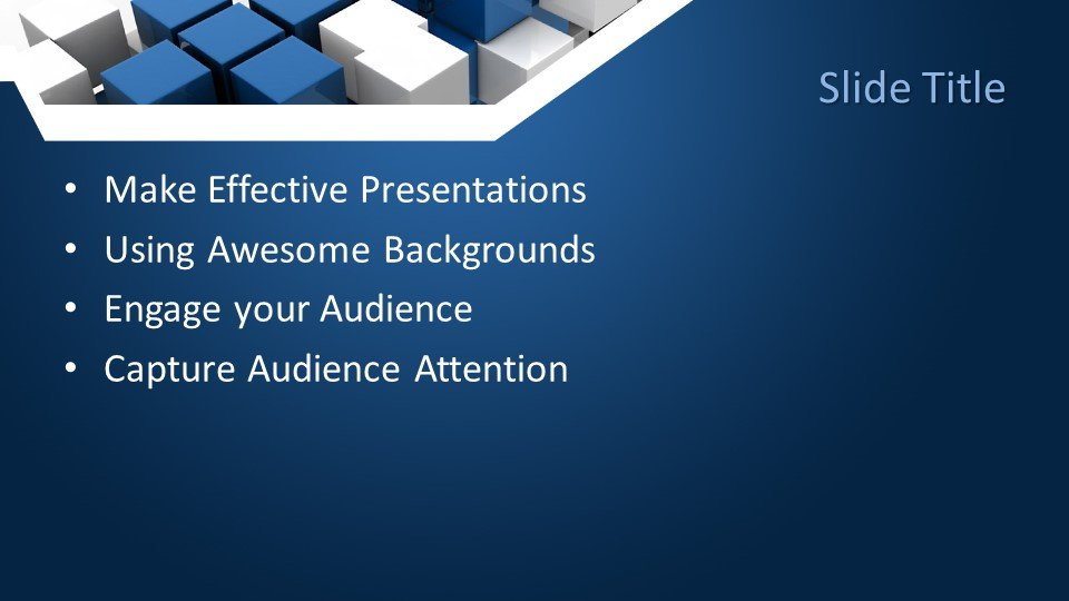 slides plantilla powerpoint Resumen en azul