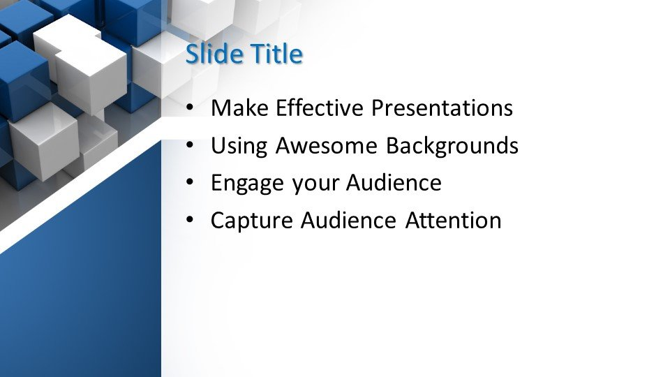 Powerpoint presentacion Resumen en azul