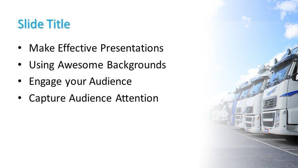 Powerpoint presentacion Camioneta