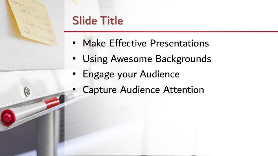 Powerpoint presentacion Pizarra Blanca