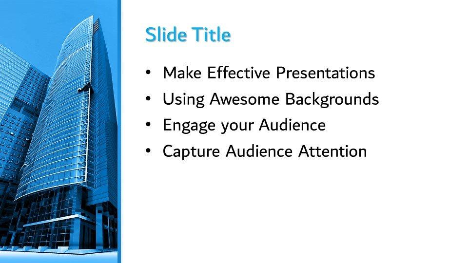 Powerpoint presentacion Edificios de oficinas modernos