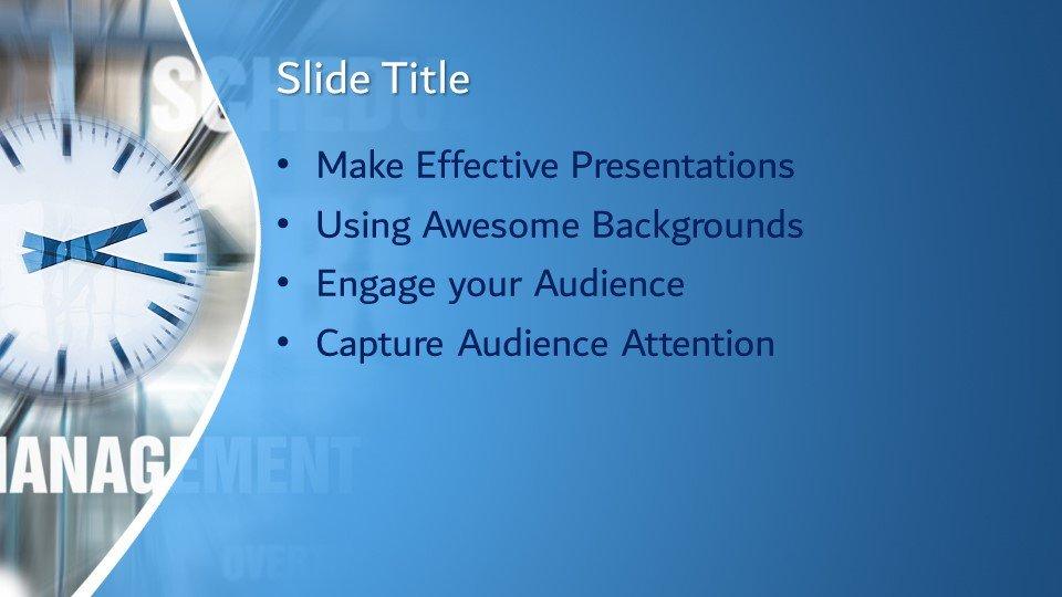 Powerpoint presentacion Tiempo Concepto