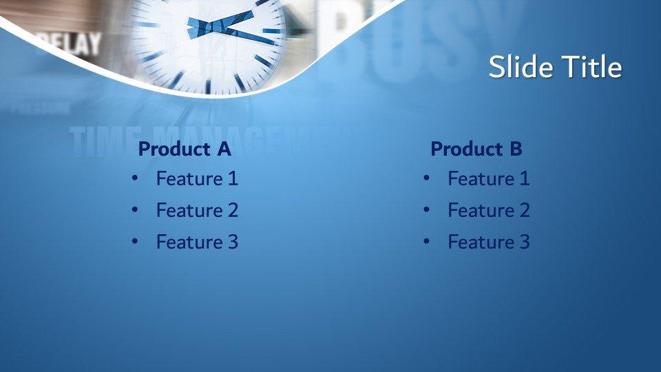 Descargar tema powerpoint Tiempo Concepto