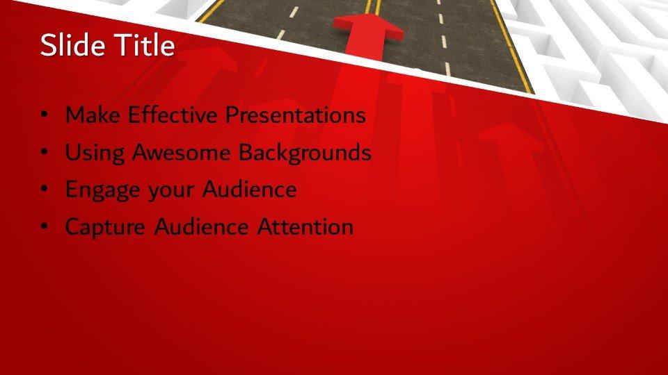 slides plantilla powerpoint Crecimiento