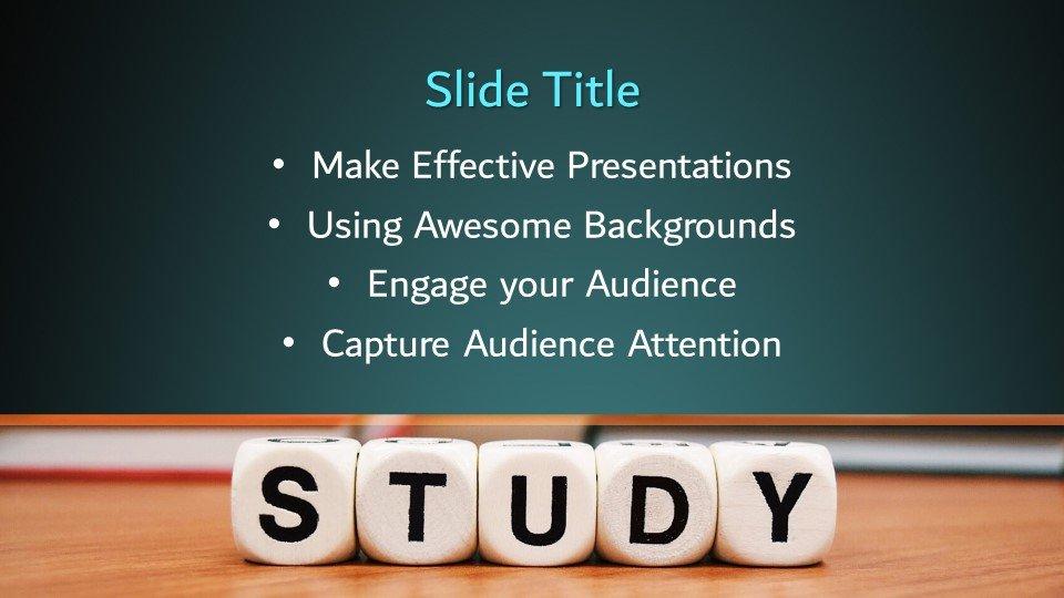 slides plantilla powerpoint Estudio