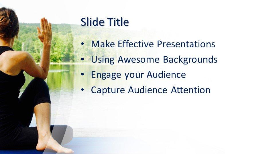 Powerpoint presentacion Yoga de Meditación