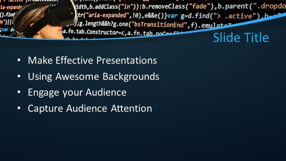 slides plantilla powerpoint Virtual