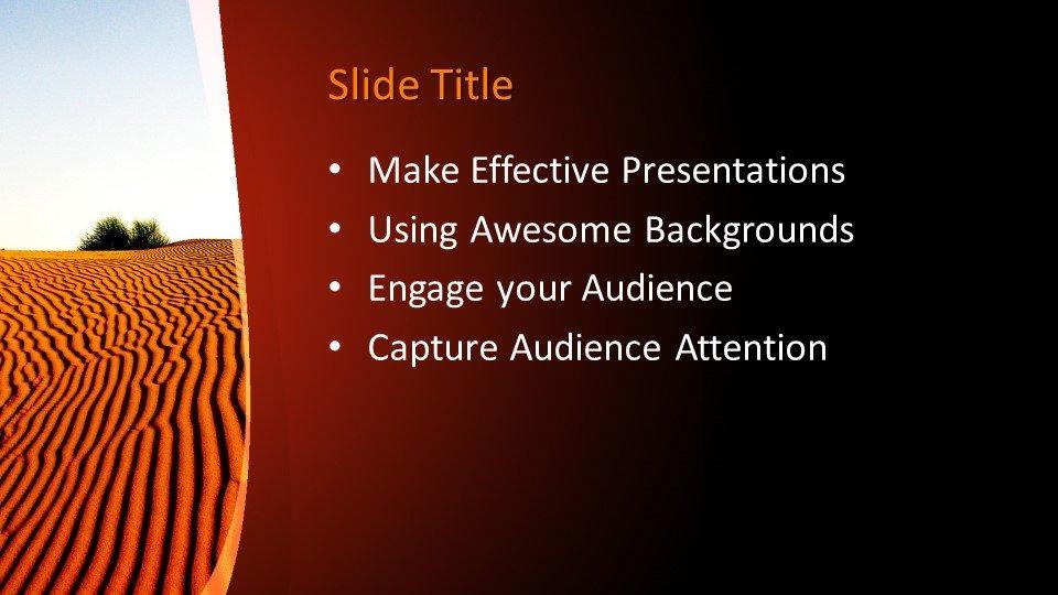 Powerpoint presentacion Desierto árido