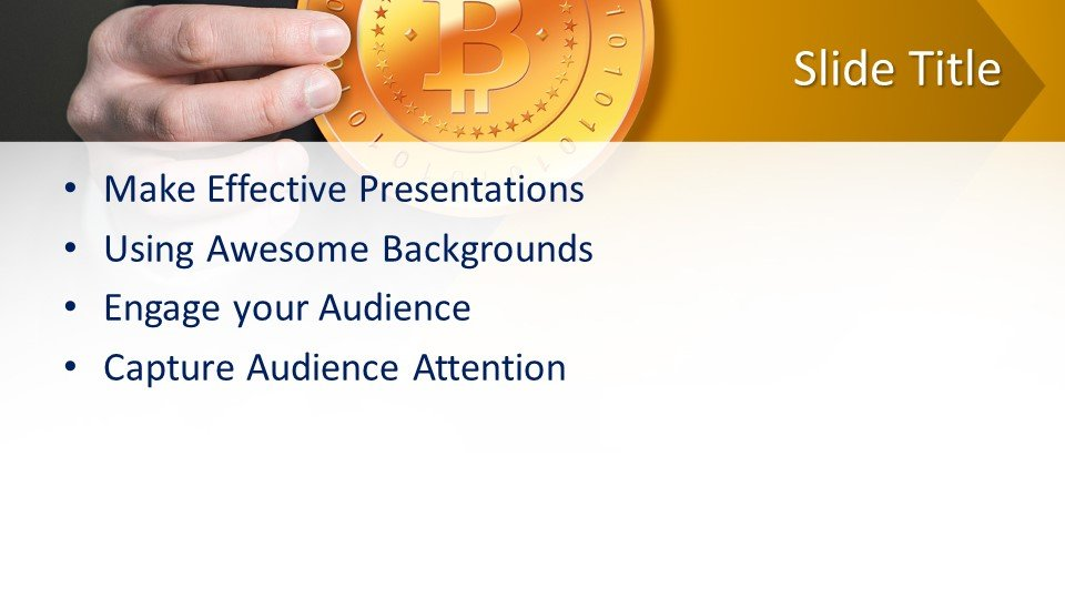 slides plantilla powerpoint Criptomoneda Bitcoin