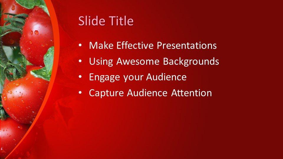 Powerpoint presentacion Tomates