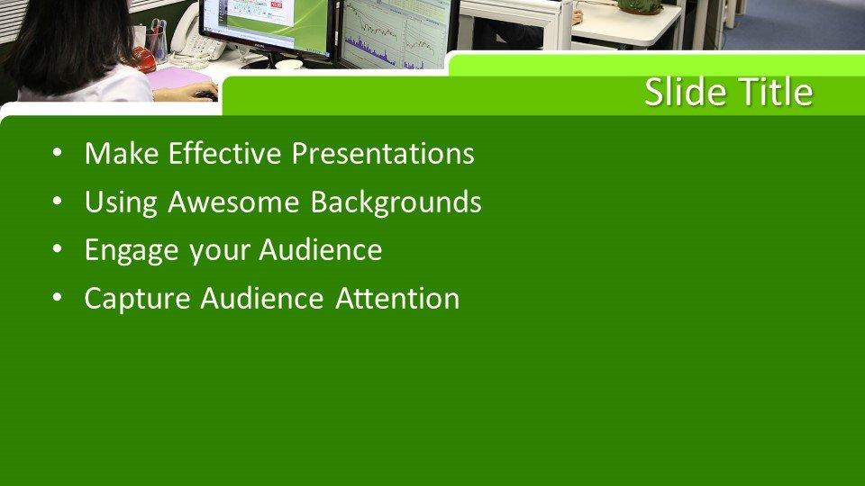 slides plantilla powerpoint Espacio de oficinas
