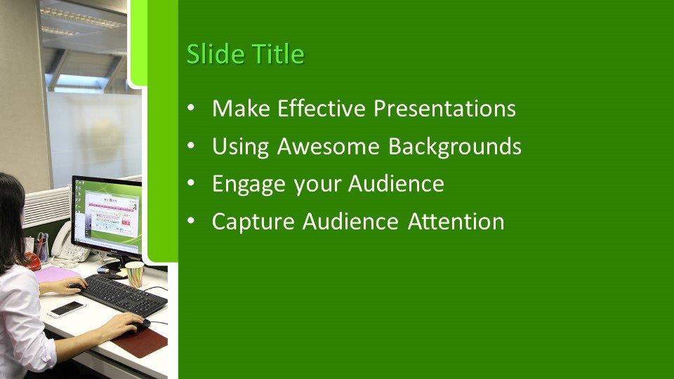 Powerpoint presentacion Espacio de oficinas