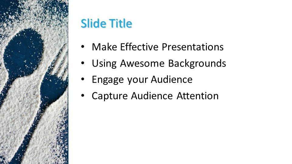 Powerpoint presentacion Cuchara y tenedor