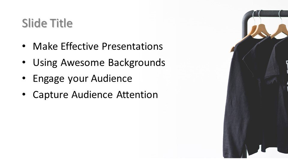 Powerpoint presentacion Ropa